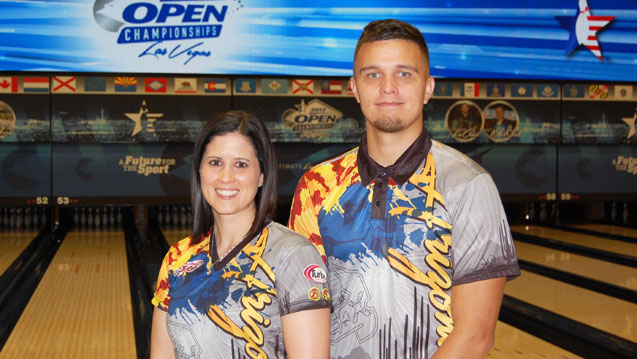 Husband and wife lead every event at 2017 Open Championships